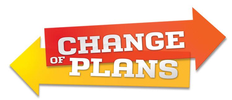 Изменения в планах
